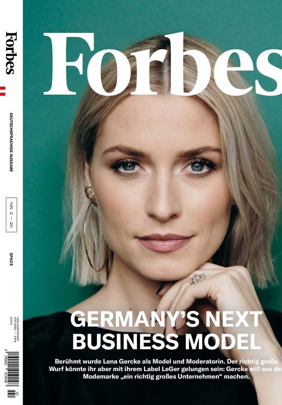 Lena Gercke - Forbes Magazine February 2020 Issue