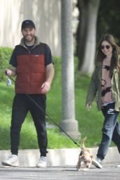 Lily Collins - Out in Los Angeles 03/18/2020