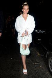 Louisa Johnson - Leaving the Sintallite Party in London 03/07/2020