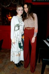 Lucy Boynton – Chloe Dinner at Paris Fashion Week 02/27/2020