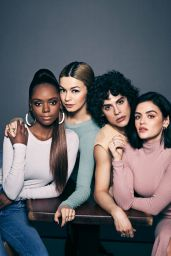 Lucy Hale, Ashleigh Murray, Julia Chan and Jonny Beauchamp - Watch! Magazine March 2020 Issue