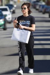 Lucy Hale - Running Errands in LA 03/28/2020