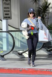 Lucy Hale Street Style - Out in Studio City 03/19/2020