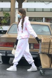 Madison Beer - Surgical Mask and Gloves Amid Coronavirus Pandemic in LA 03/14/2020