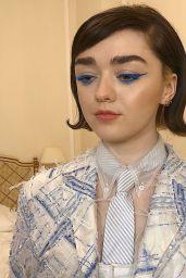Maisie Williams - Social Media 03/02/2020
