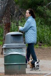 Margaret Qualley and Andie MacDowell - Out For a Hike in LA 03/26/2020