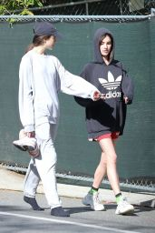 Margaret Qualley and Rainey Qualley - Beverly Hills 03/19/2020