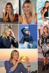 Maria Sharapova - Tennis Magazine April 2020 Issue