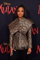 "Marsai Martin – ""Mulan"" Premiere in Hollywood"