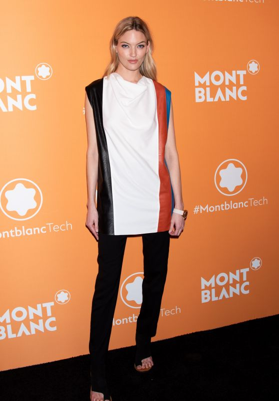 Martha Hunt – Montblanc Smart Headphones & Smart Watch Launch Party in NYC
