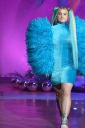 Meghan Trainor – 2020 Christian Cowan x Powerpuff Girls Runway Show in Hollywood