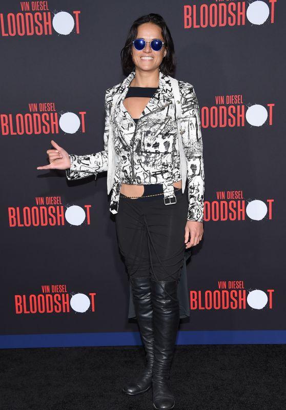 """Michelle Rodriguez – """"Bloodshot"""" Premiere in LA"""