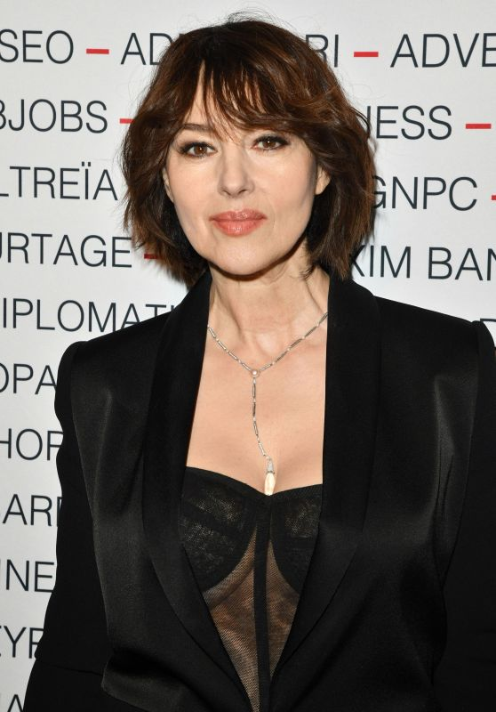 Monica Bellucci - Chinese Business Club Dinner in Paris 03/09/2020