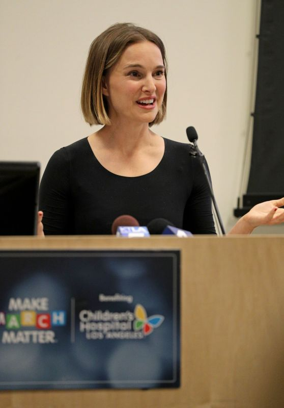 Natalie Portman - Make March Matter Fundraising Campaign Kick-Off in LA 03/02/2020