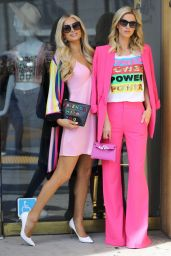 Nicky Hilton and Paris Hilton - Filming in Beverly Hills 03/05/2020