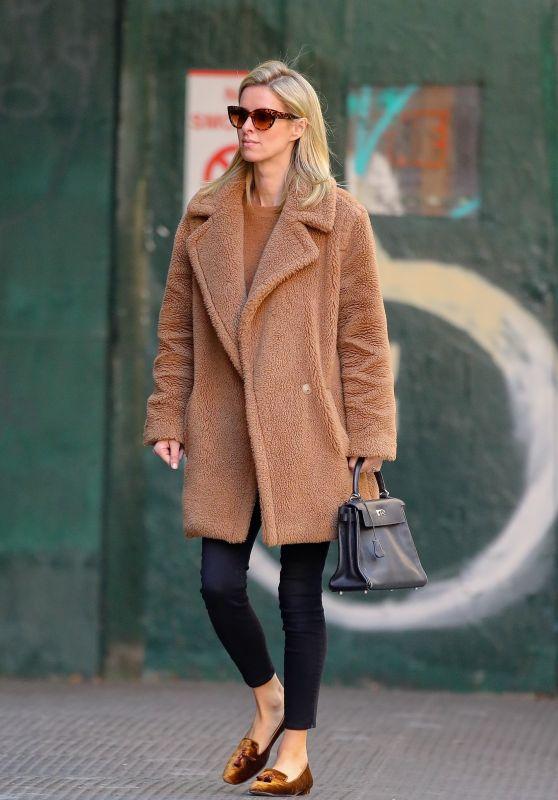 Nicky Hilton Street Style - New York City 03/11/2020