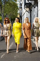 Nicole Scherzinger, Jessica Sutta, Carmit Bachar, Kimberly Wyatt and Ashley Roberts - Sydney 03/06/2020