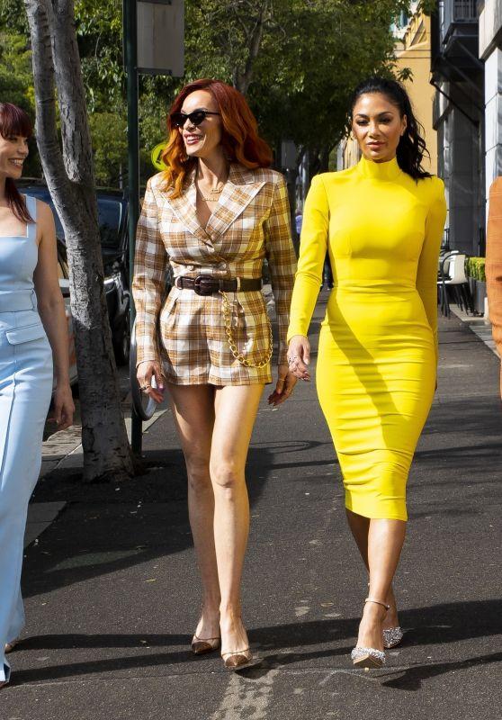 Nicole Scherzinger, Jessica Sutta, Carmit Bachar, Kimberly Wyatt and Ashley Roberts - Sydney 03/06/2020