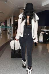 Nicole Scherzinger - LAX Airport in LA 03/11/2020