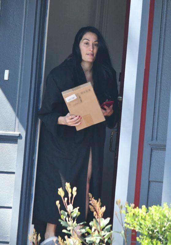 Nikki Bella at Her Home in Studio City 03/02/2020