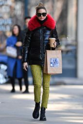 Olivia Palermo Street Style - NYC 03/14/2020