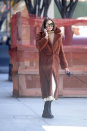 Olivia Palermo - Walks Her Dog in NYC 03/24/2020