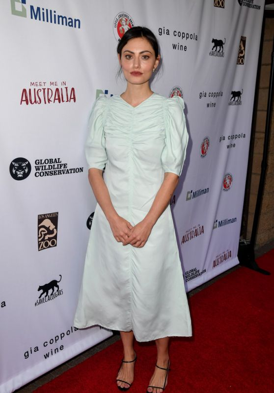 "Phoebe Tonkin - The Greater Los Angeles Zoo Association Hosts ""Meet Me In Australia"" 03/08/2020"