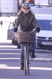 Pippa Middleton on Her Bicycle - West London 03/23/2020