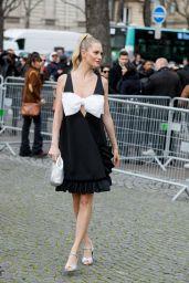 Poppy Delevingne – Arriving at the Miu Miu Fashion Show in Paris 03/03/2020