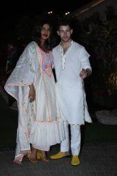 Priyanka Chopra and Nick Jonas - Isha Ambani's Holi Party in Mumbai 03/06/2020