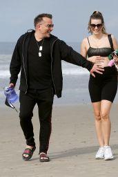 Rachel McCord - Beach in Venice 03/15/2020