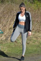 Rebecca Gormley - Workout Session in Newcastle 03/25/2020