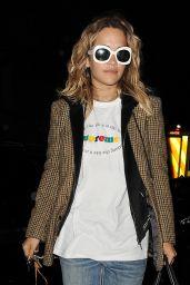 Rita Ora Night Out in London 02/28/2020