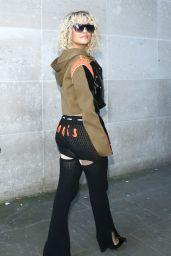 Rita Ora Street Style - London 03/16/2020