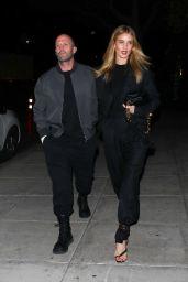 Rosie Huntington-Whiteley and Jason Statham - Matsuhisa in Beverly Hills 03/06/2020