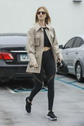 Rosie Huntington-Whiteley in Workout Gear - Beverly Hills 03/10/2020