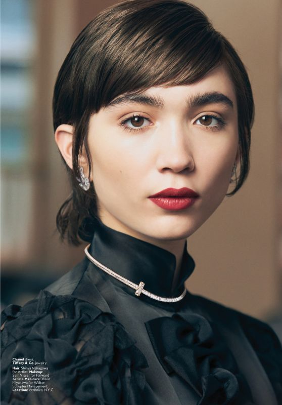 Rowan Blanchard - InStyle Magazine USA April 2020 Issue