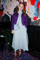 Sara Forestier - Chloe Dinner at Paris Fashion Week 02/27/2020