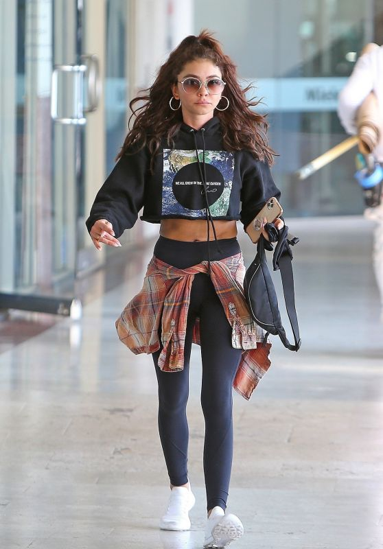Sarah Hyland in Gym Ready Outfit 03/11/2020