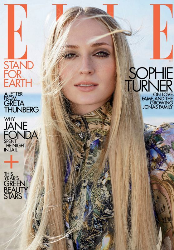 Sophie Turner – ELLE Magazine USA April 2020 Issue