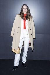 Stacy Martin – Louis Vuitton Show at Paris Fashion Week 03/03/2020
