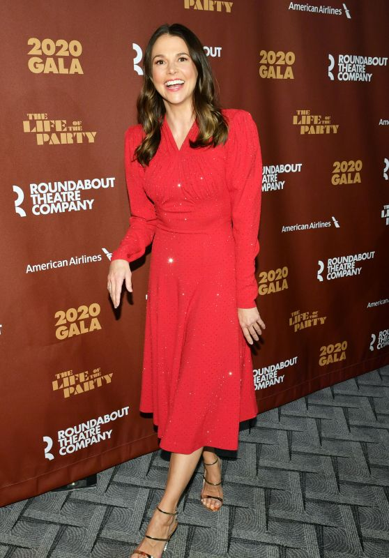 Sutton Foster – Roundabout Theater's 2020 Gala in NYC