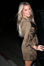 Sylvie Meis Night Out Style - Madeo in Beverly Hills 03/04/2020