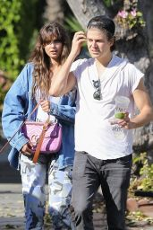 Taylor Hill and Daniel Fryer - Urth Cafe in Los Angeles 03/02/2020