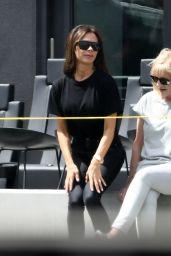 Victoria Beckham and David Beckham in Miami 03/14/2020