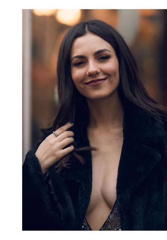 Victoria Justice - Photoshoot in NY February 2020