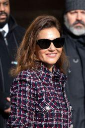 Virginie Ledoyen - Arrives at Chanel Show at Paris Fashion Week 03/03/2020