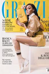 Winnie Harlow - Grazia Italy 03/12/2020 Issue