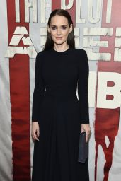 "Winona Ryder - ""The Plot Against America"" Premiere in NYC"