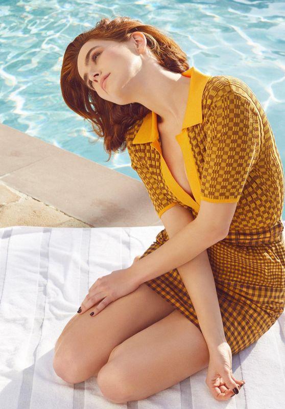 Zoey Deutch - Glass Magazine Spring 2020